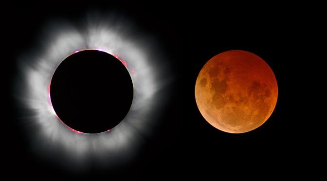 Por qu ocurren los eclipses astronom a online for Que fase lunar hay hoy