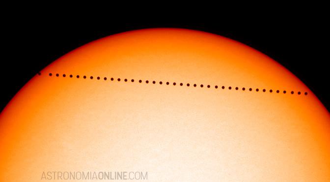 Tránsito de Mercurio del lunes 9 de mayo de 2016