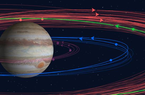 Descubren diez nuevas lunas de Júpiter